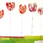 128-martina_escuderowolf_Five_tulips_30x40_sold